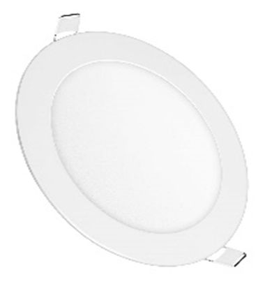 DL3L2563 :: PANNEAU LED ROND BLANC NATUREL ULTRAPLAT ENCASTRABLE 24W
