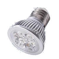 E27S5BY :: SPOT LED E27 5W 220V BLANC CHAUD TRES PUISSANT