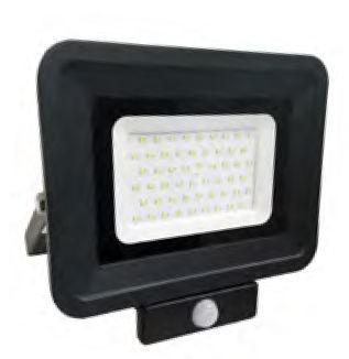 FL3L5863 :: PROJECTEUR LED ETANCHE 50W BLANC NATUREL  DETECTEUR