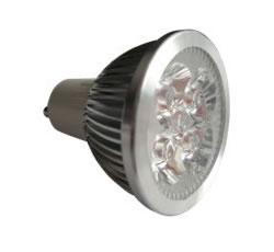 GU10S6BY :: SPOT LED GU10 6W 220V BLANC CHAUD TRES PUISSANT