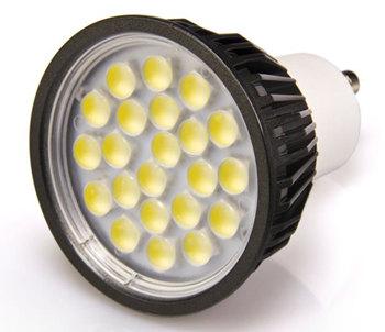 GU10S5YS :: SPOT LED GU10 DIMMABLE220V 5W BLANC CHAUD