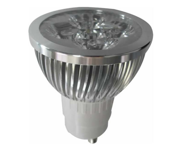GU10S5VW :: SPOT LED GU10 DIMMABLE 220V 5W BLANC PUR TRES PUISSANT