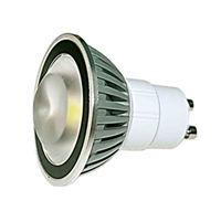 GU10S4FY-SPOT LED GU10 PUISSANT 220V 4W BLANC CHAUD :: + infos - Devis