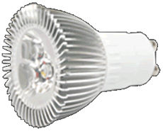 GU10S4BZ :: SPOT LED GU10 220V 4W BLANC NATUREL