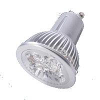 GU10S5BY :: SPOT LED GU10 5W 220V BLANC CHAUD TRES PUISSANT