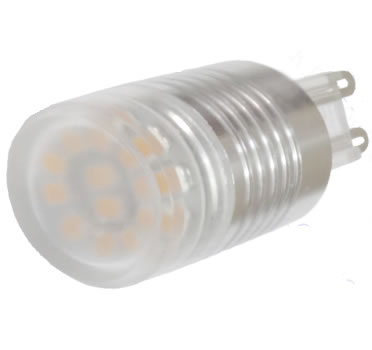 G9B11Y-AMPOULE G9 LED 11PCS SMD2323 BLANC CHAUD :: + infos - Devis