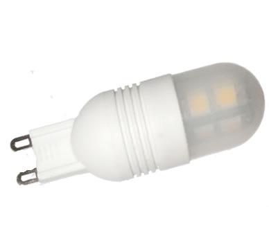 G9C6Y :: AMPOULE G9 LED 6PCS SMD2323 BLANC CHAUD