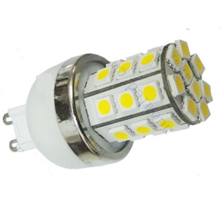 G9E21Y :: AMPOULE G9 LED 12PCS SMD5050 BLANC CHAUD