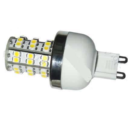G9E48Y :: AMPOULE G9 LED 48PCS SMD3528 BLANC CHAUD