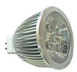 MR16S8BY :: SPOT LED MR16 8W 12V BLANC CHAUD TRES PUISSANT