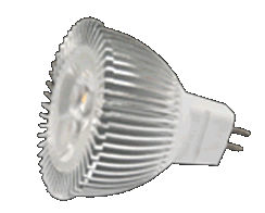 MR16SM3Y :: SPOT LED MR16 3W BLANC CHAUD