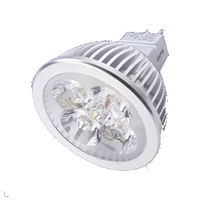 MR16S5VY :: SPOT LED MR16 DIMMABLE 12V 5W BLANC CHAUD TRES PUISSANT