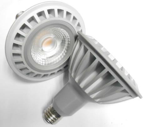 PAR38S22RY-PAR38 LED COB DIMMABLE 22W BLANC CHAUD :: + infos - Devis