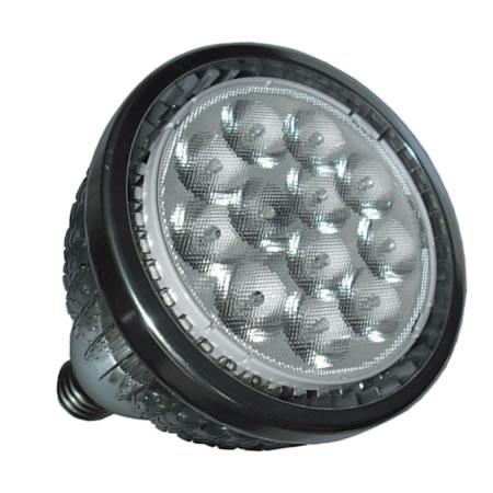 PAR38S15BY :: PAR 38 LED PUISSANT  220V 15W BLANC CHAUD