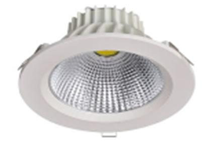 PLDA10Y-SPOT LED ROND ENCASTRABLE 10W 700LM BLANC CHAUD DE98 :: + infos - Devis