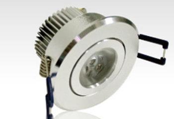 PLD13BY :: SPOT LED COMPLET 3W BLANC CHAUD DE60