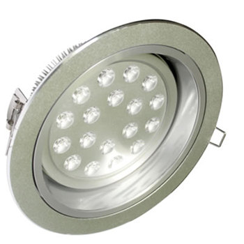 PLD18AY :: SPOT LED ROND BLANC CHAUD ENCASTRABLE ORIENTABLE DIMMABLE 18W DE205