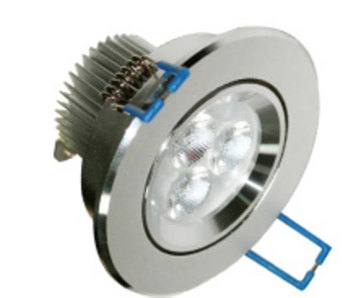 PLDB33Z-SPOT LED ROND ENCASTRABLE ORIENTABLE 8W BLANC NATUREL LED CREE XP DE76 :: + infos - Devis