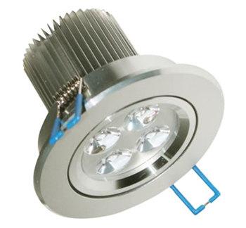 PLD41YA :: SPOT LED ROND ENCASTRABLE 5W DIMMABLE BLANC CHAUD LED CREE XP DE76