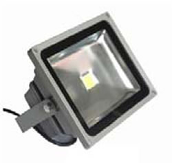 PROJF50Y :: PROJECTEUR LED BLANC CHAUD 220V 50W 120 DEGRES