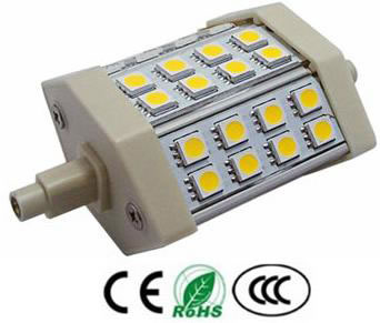 R7S5AY-LAMPE R7S 5W 220V BLANC CHAUD :: + infos - Devis