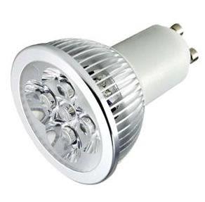 GU10S5CLY :: LOT DE 100 SPOTS LED GU10 5W 220V BLANC CHAUD PUISSANT