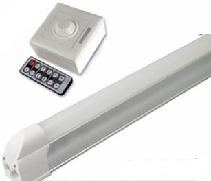 T5CGV12Y-TUBE T5 LED INTEGRE DIMMABLE 90CM BLANC CHAUD 220V 12W :: + infos - Devis