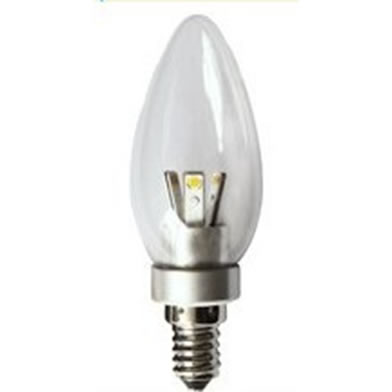 E14FAV3Y :: AMPOULE FLAMME E14 360 DEGRES 3W DIMMABLE BLANC CHAUD