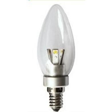 E14FA3Y-AMPOULE FLAMME E14 360 DEGRES 3W BLANC CHAUD :: + infos - Devis
