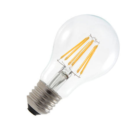E27GAT6Y-AMPOULE LED FILAMENT GLOBE E27 6W CLAIRE BLANC CHAUD :: + infos - Devis