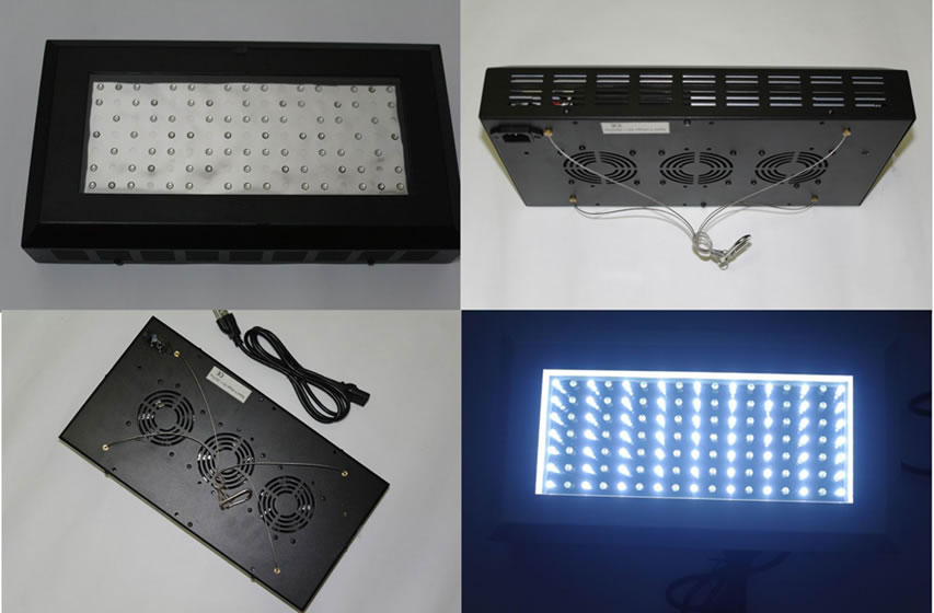 AQUA200FW-PANNEAU ECLAIRAGE LED AQUARIUM, 40CM, 220V, 200W :: + infos - Devis