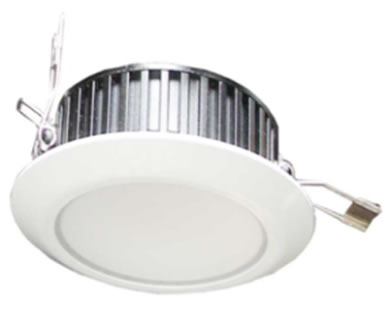 PLDE6Y :: SPOT LED ENCASTRABLE 6W BLANC CHAUD DE108
