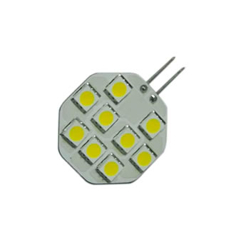 G4C1BY :: AMPOULE G4 LED 9PCS SMD5050 BLANC CHAUD