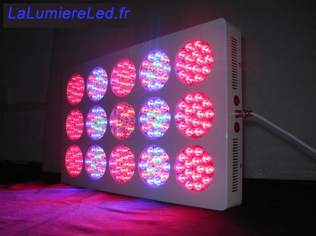 HOR540-PANNEAU LED POUR PLANTES 540W :: + infos - Devis