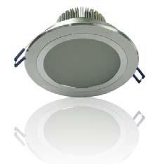 PLFK10Y :: PLAFONNIER LED ENCASTRABLE ETANCHE 10W BLANC CHAUD DE108