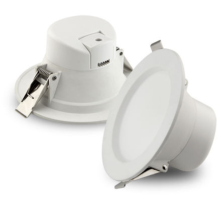 PLB10Y :: PLAFONNIER LED ENCASTRABLE DIMMABLE ROND 10W BLANC CHAUD DE95