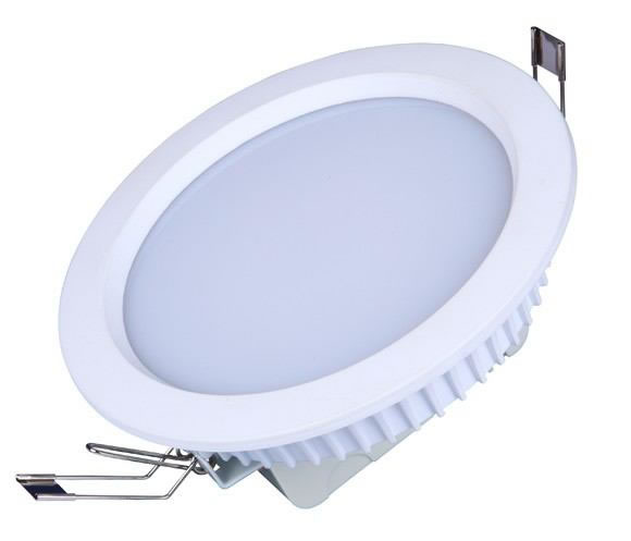 PLDR10Y :: SPOT LED ENCASTRABLE DIMMABLE LED SAMSUNG 10W BLANC CHAUD DE120