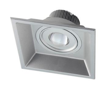 PLDN15Y-PLAFONNIER LED CARRE 15W DIMMABLE 800 LM BLANC CHAUD DE165 :: + infos - Devis