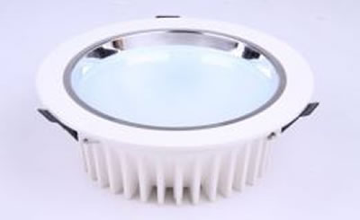 PLD20RY :: PLAFONNIER LED ENCASTRABLE DIMMABLE ROND 20W 1350LM BLANC CHAUD DE175
