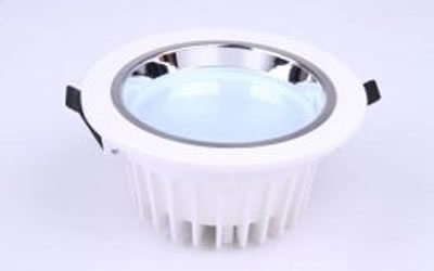 PLDP10Z :: PLAFONNIER LED ENCASTRABLE ROND 10W 750LM BLANC NATUREL DE118