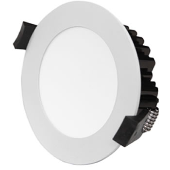PLFV10Y-PLAFONNIER LED ENCASTRABLE DIMMABLE 10W BLANC CHAUD DE90 :: + infos - Devis