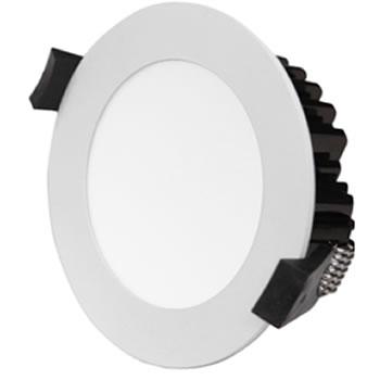 PLFV10Y :: PLAFONNIER LED ENCASTRABLE DIMMABLE 10W BLANC CHAUD DE90