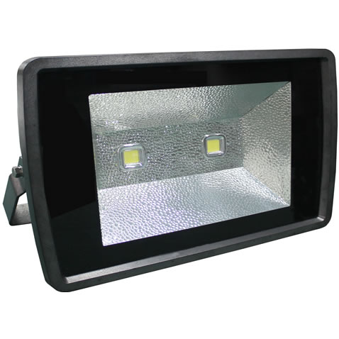 TLB150CY-PROJECTEUR LED BLANC CHAUD 220V 150W ANGLE 140 :: + infos - Devis