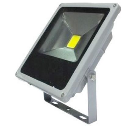 PROJB30Z-PROJECTEUR 220V 30W PLAT BLANC NATUREL 120 DEGRES :: + infos - Devis