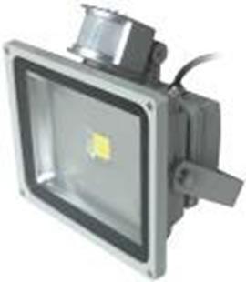 FLBDET30RGBA-PROJECTEUR DETECTEUR  LED RGB 220V 30W 140 DEGRES :: + infos - Devis