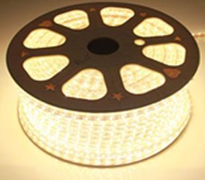 RA220Y-RUBAN LED 220V 5W EXTERIEUR 100 METRES BLANC CHAUD :: + infos - Devis