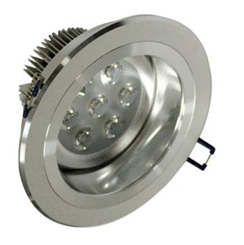 PLD7BY :: SPOT LED ROND ENCASTRABLE 7W BLANC CHAUD LED CREE XP DE75