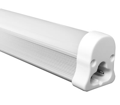 T5AG5Y :: TUBE T5 LED INTEGRE 30CM BLANC CHAUD 220V 5W