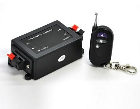 VAR12D-VARIATEUR LED 12V TELECOMMANDE PORTE CLE :: + infos - Devis