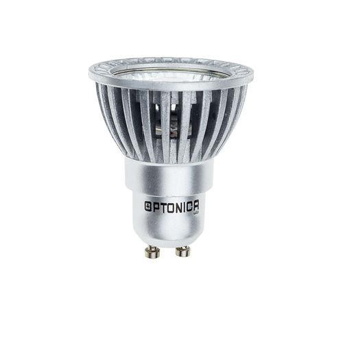 1224 :: SPOT LED GU10 BLANC CHAUD 3W 220V